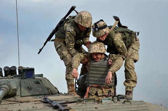 Верховная рада разрешила военным из других стран участвовать в учениях на Украине