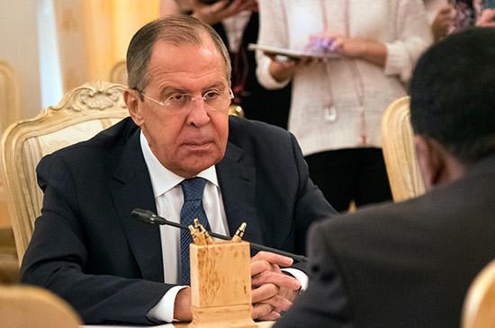Лавров встретился с постпредом Сирии при ООН