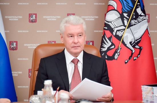 Собянин осмотрел строящуюся станцию метро «Нижняя Масловка»