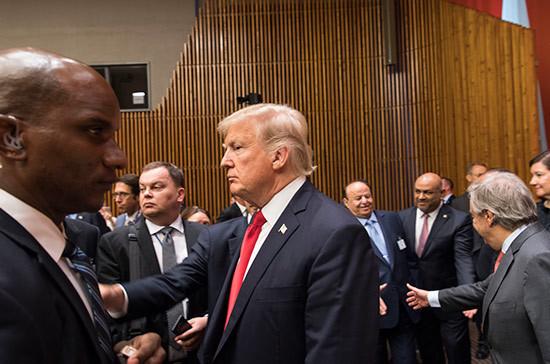 Трамп встретится с Мэй на полях международного экономического форума