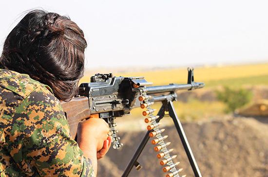 СМИ: курды убили четырех турецких солдат на границе с САР