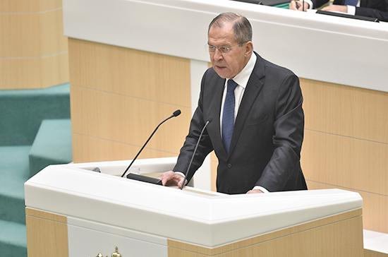 Лавров: ИГнедостигла заявленной цели посозданию халифата