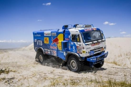 Путин поздравил команду «КамАЗ-мастер» с победой в ралли «Дакар-2018»
