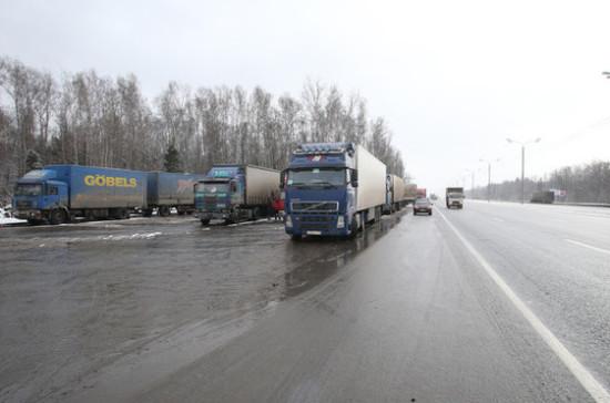 Перевозчики изЭстонии будут платить запроезд по русским дорогам