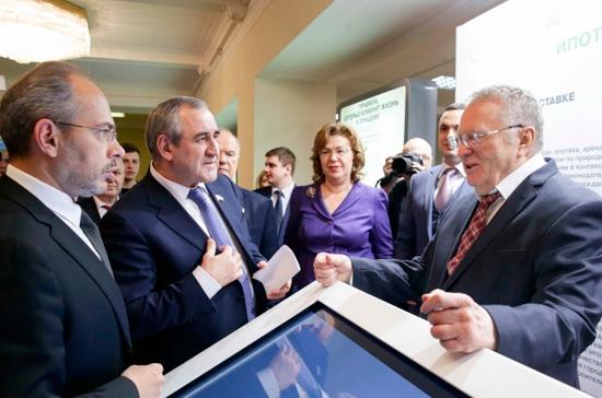 В Госдуме открыли посвящённую защите дольщиков выставку