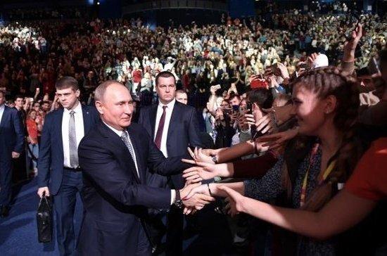 Путин считает, что устудентов должно быть больше информации о возможных работодателях