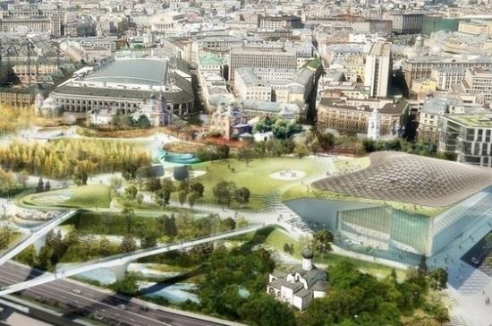 Парк «Зарядье» летом будет местом проведения Московского урбанистического форума