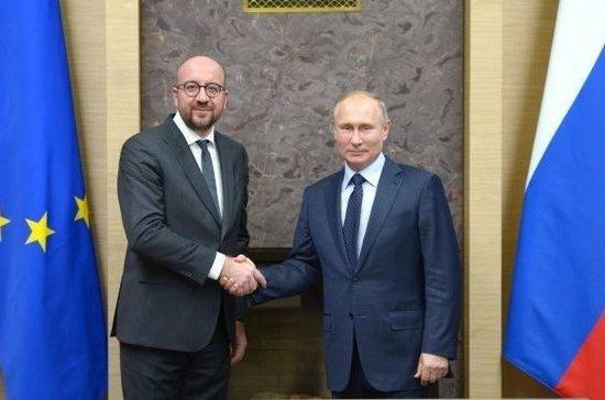Путин поделился впечатлениями отвизита бельгийского премьера в российскую столицу