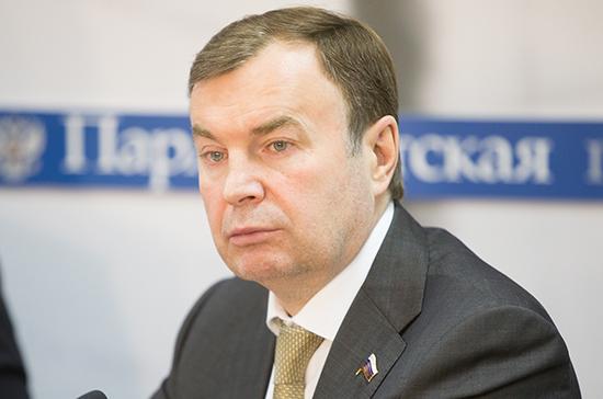 Зубарев: «Единая Россия» поддержит диверсификацию ОПК партпроектами