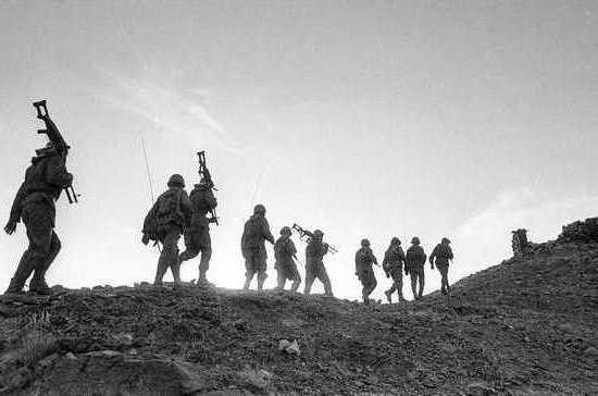 Воинский долг за пределами Родины