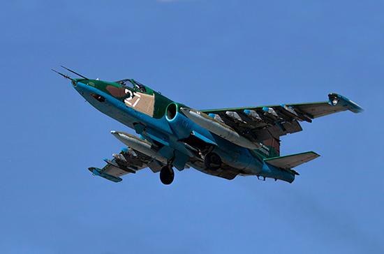В Сети появилось новое видео обстрела сбитого в Сирии Су-25