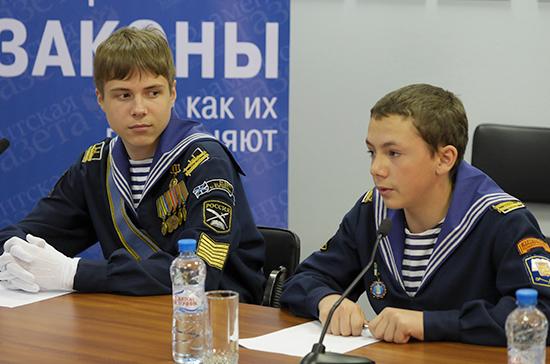 Муниципалитетам могут разрешить открывать кадетские школы