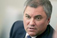 Володин: Госдума может обратиться к правоохранителям по поводу поддержки бизнеса
