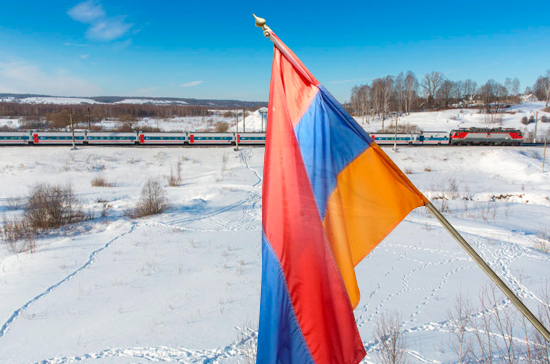 Россию и Армению соединит железная дорога