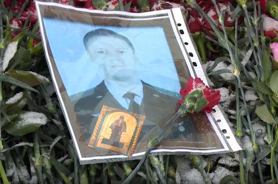 Шойгу простился с погибшим в Сирии лётчиком