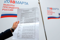 Как будет выглядеть бюллетень на выборах Президента России