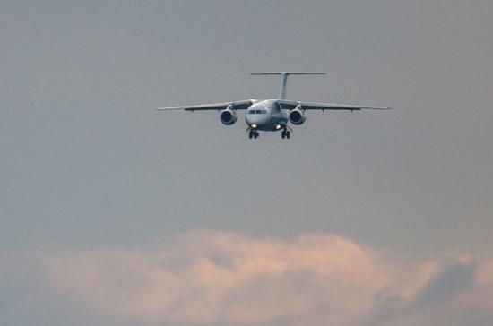 В Подмосковье обнаружили упавший пассажирский самолёт