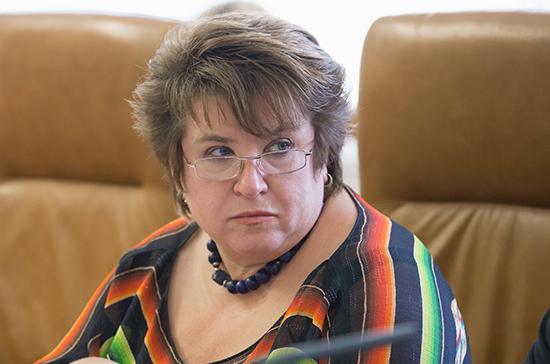 Глебова будет представлять Совет Федерации в Общественной палате