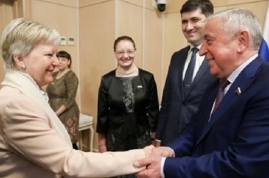 Депутаты Госдумы встретились с послом по особым поручениям ЕС по Арктике