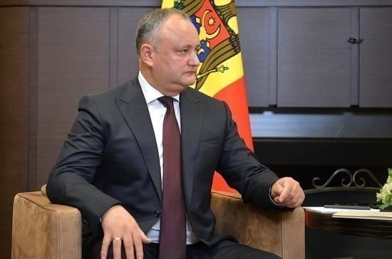 Додон созывает Совбез Молдавии для предотвращения антигосударственных действий