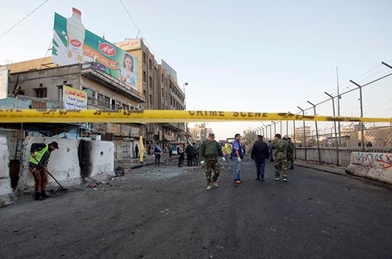 В Багдаде прогремел взрыв, сообщают СМИ