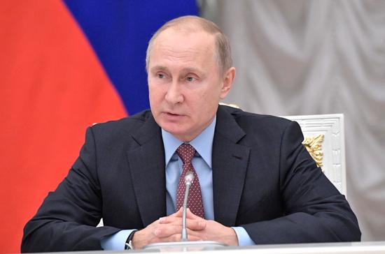 Путин: необходимо бороться с давлением на бизнес