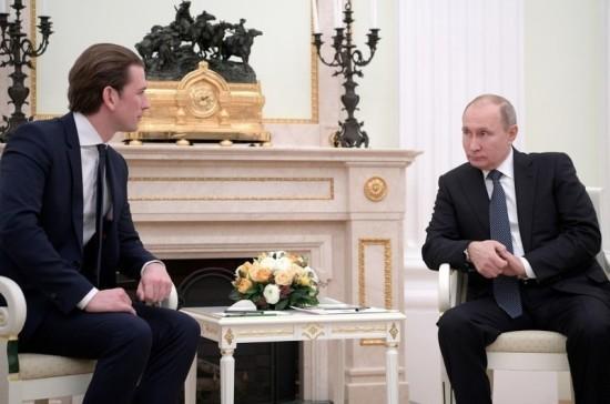 Путин и Курц заявили о безальтернативности Минских соглашений