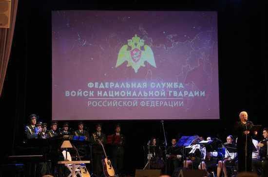 Росгвардия с Сергеем Маховиковым организовали спектакли-концерты в Сибирском округе