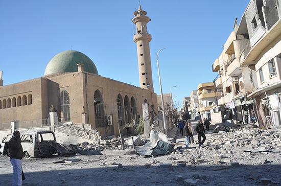 В Минобороны РФ рассказали о гуманитарной катастрофе в Ракке