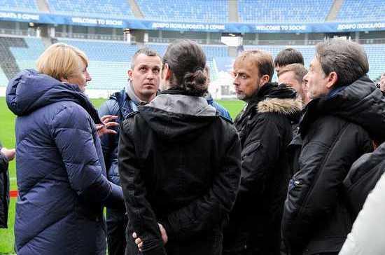 Комиссия ФИФА высоко оценила сочинский стадион «Фишт»
