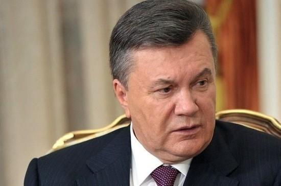 Янукович поведал очем писал Путину изДонецка