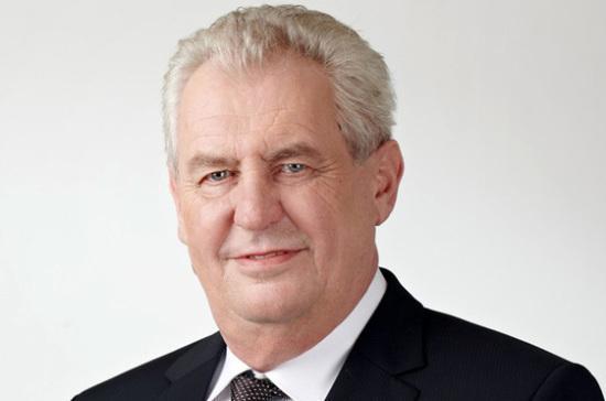 В Праге прошла инаугурация переизбранного президента Чехии