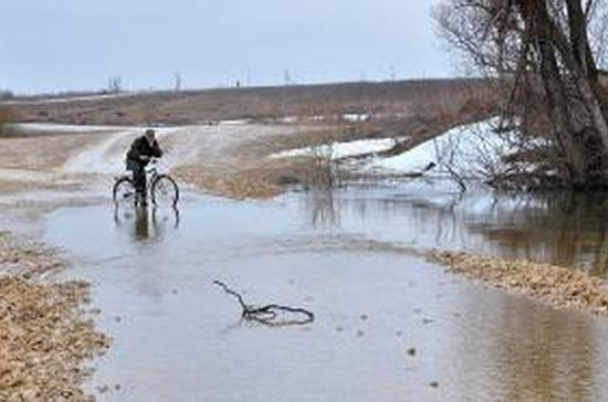 Регионы ЦФО говорят об угрозе затопления во время половодья во многих населённых пунктах