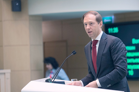Мантуров: Правительство согласовало стратегию развития автопрома