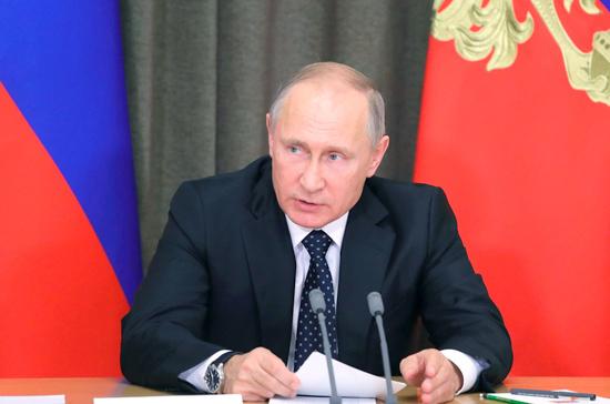 Путин: Российская Федерация не будет втягиваться в гонку вооружений