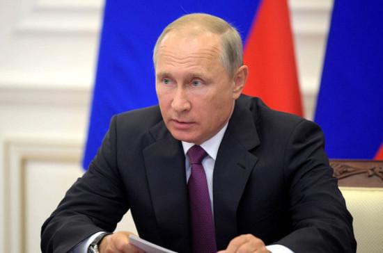 Путин обратится кроссиянам по результатам выборов Президента Российской Федерации
