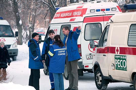 ВЧелябинске неизвестные напали набригаду скорой помощи