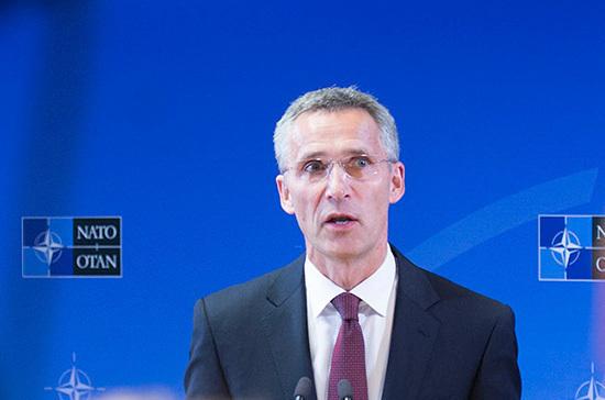Столтенберг: число сотрудников постпредства РФ при НАТО сокращается на 10 человек