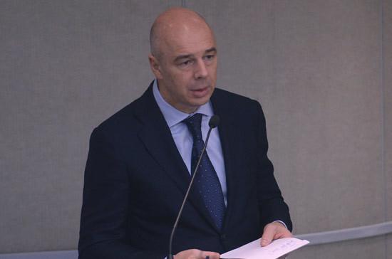 Министр финансов РФвыступает против роста ненефтегазовых налогов
