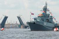 В Военно-морском параде в Петербурге будут участвовать более 40 кораблей, заявил Шойгу