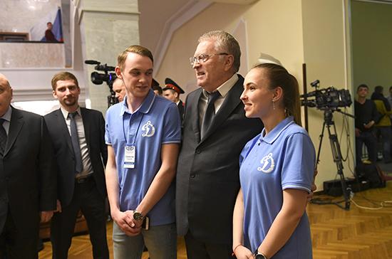 Общество «Динамо» открыло большую ретроспективную выставку