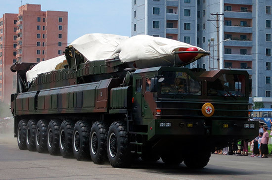 МИД Японии информирует оподготовке КНДР кновому ядерному испытанию