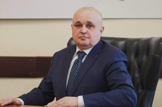 Меняйло официально представил врио главы Кузбасса