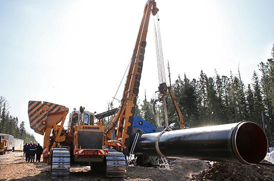 Газпром сдвинул срок окончания стройки первой нити Турецкого потока намай--ИФ