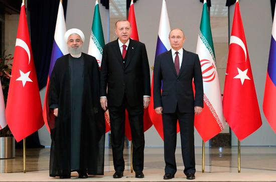 Следующий саммит РФ, Ирана и Турции пройдёт в Иране