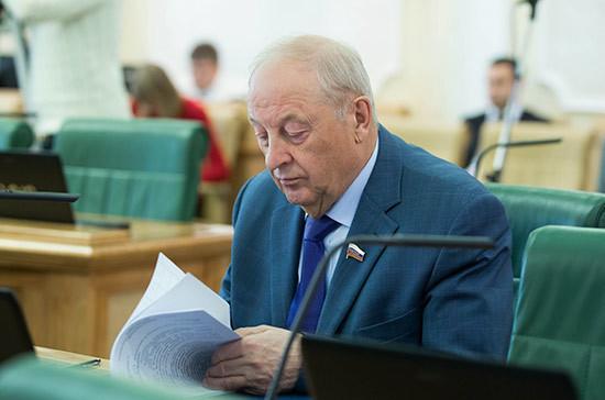 Сенатор Россель поддержал отмену прямых выборов мэра Екатеринбурга