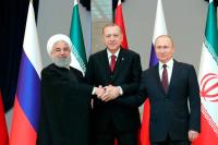 Россия, Иран и Турция убеждены, что конфликт в Сирии можно решить только политическим путём