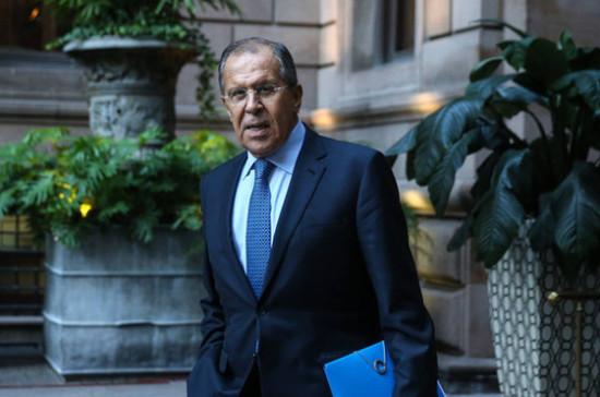 Лавров: односторонние шаги Запада в отношении России носят вызывающий характер