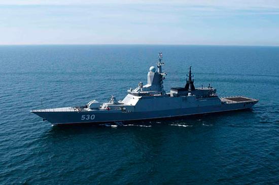 Корабли Балтфлота благополучно провели учения вБалтийском море