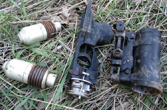 В Ставрополе на берегу пруда обнаружили заряженный гранатомёт
